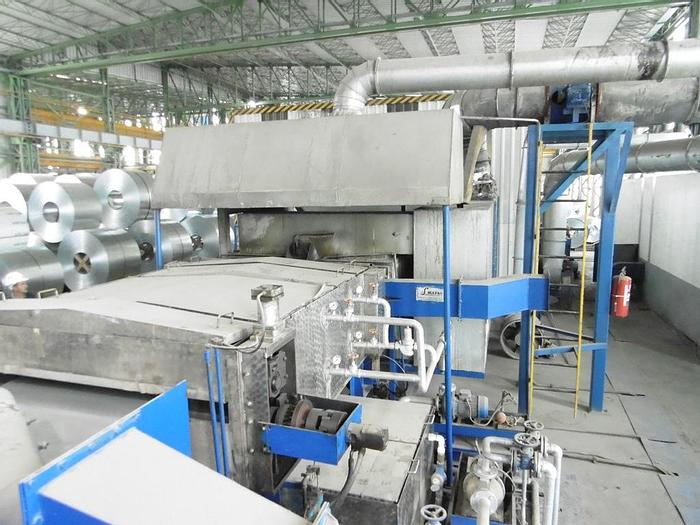 """Used 1500mm (59"""") Compact Coil Coating Line: CC-182"""
