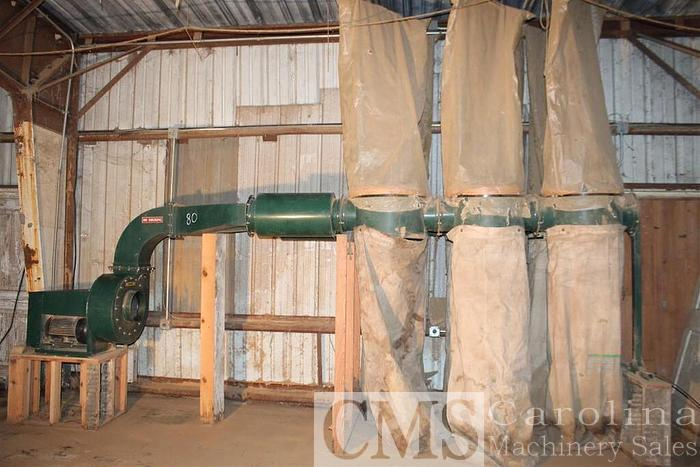 Used Rees-Memphis C1030-6 Dust Collector