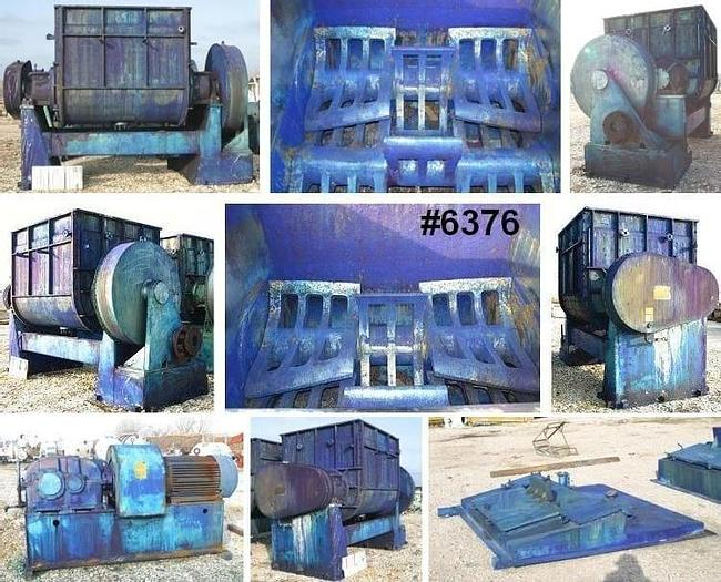 Used 1,000 GALLON BAKER PERKINS DOUBLE ARM MIXER – S/S – JACKETED – 300 HP
