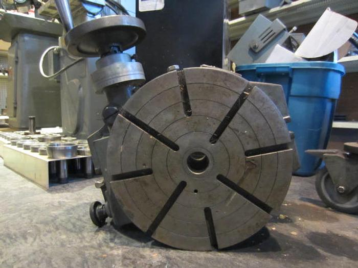 "12"" Troyke Model R-12 Manual Rotary Table 5580"