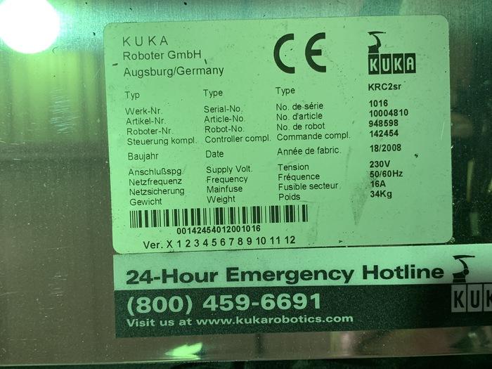 KUKA KR 5 SIXX R650 6 AXIS CNC ROBOT