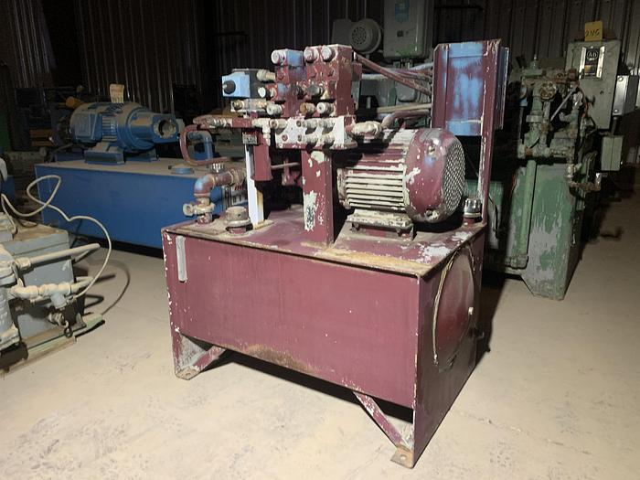 Used 7 1/2 HP Oilgear Model UA-45 Hydraulic Unit