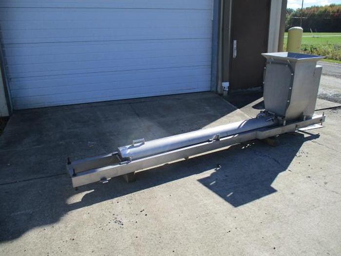 Used Spray Dynamics Uni-Spence Horizontal Screw Conveyor; Md#197.00