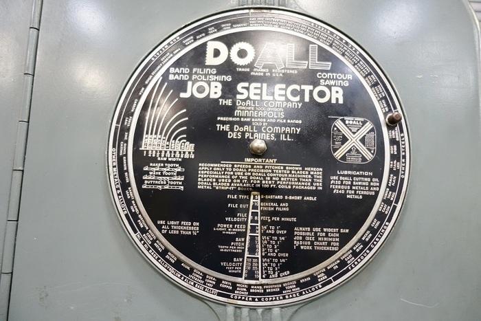 "Doall 16"" Vertical Metal Band Saw Band Saw ML"
