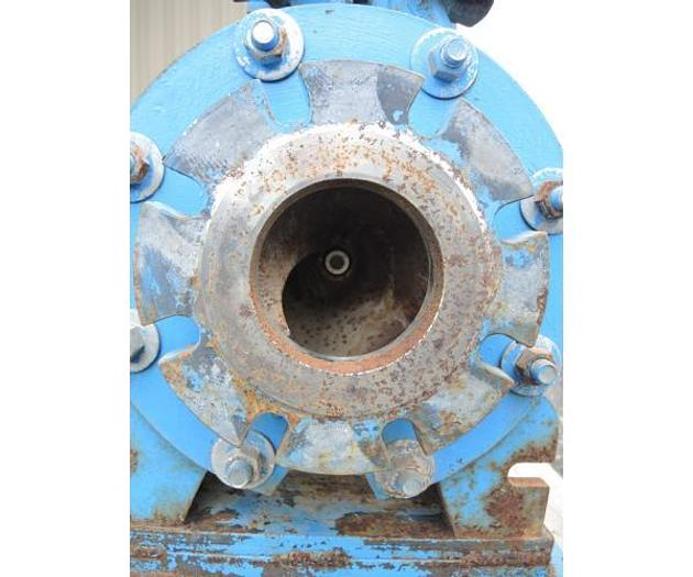 """USED CENTRIFUGAL PUMP, 4"""" X 4"""" INLET & OUTLET, CARBON STEEL"""