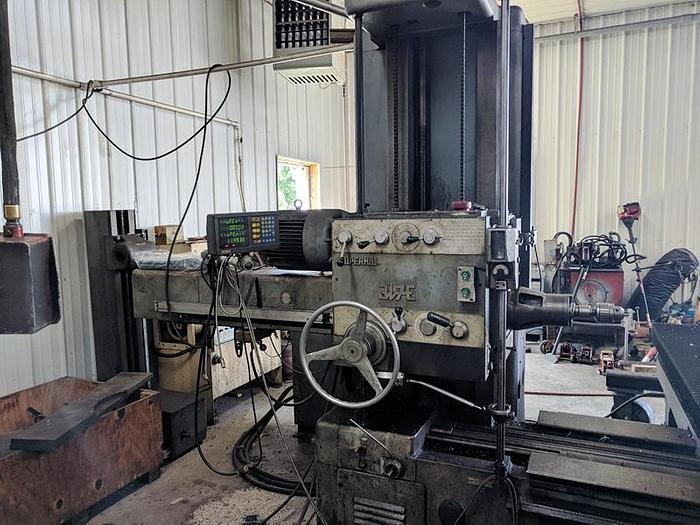 """3"""" Super Mill HBM-T, Table 48"""" X 48"""", X-72"""", Y-42"""", Z-30"""", 25 hp, 1200 rpm, ID17590"""