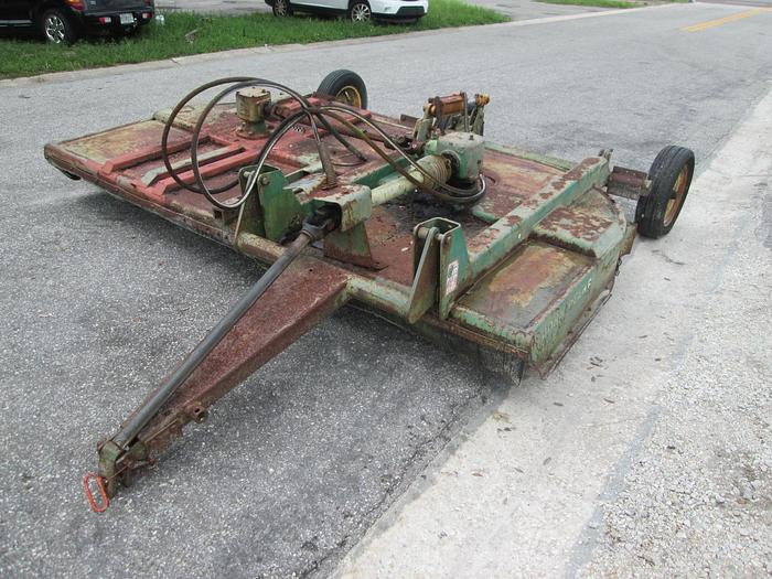 Used 10' John Deere Offset Rotary Mower