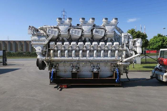 2000 MTU 20V1163TB93 marine engine 10000 HP