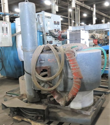 INDUCTOTHERM 100 LIFT SWING FURNACE