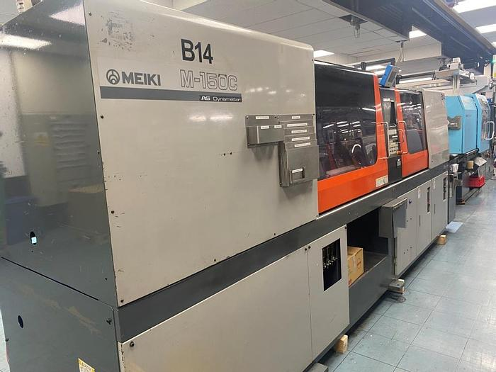 Used 2002 Meiki M-150C-AS-DM Injection Moulding Machine