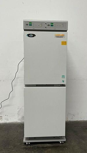 Used Nuaire NU-8700 Autoflow IR Water-Jacketed CO2 Dual Stacked Incubator Series 8