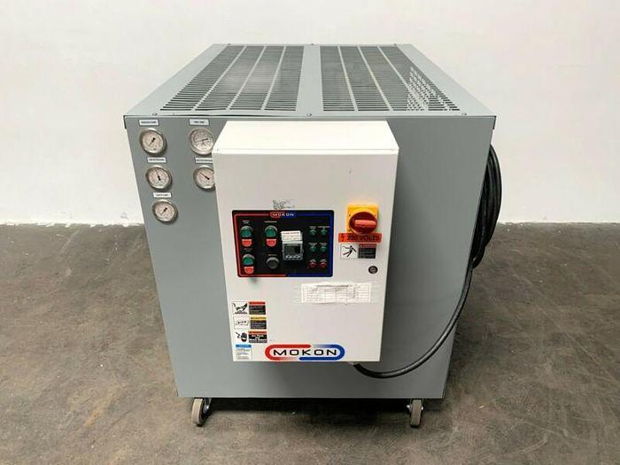 Used Mokon Iceman 311256 6kW Heater & 2 Ton Chiller 50-250°F Temp Range 230V 3 Phase