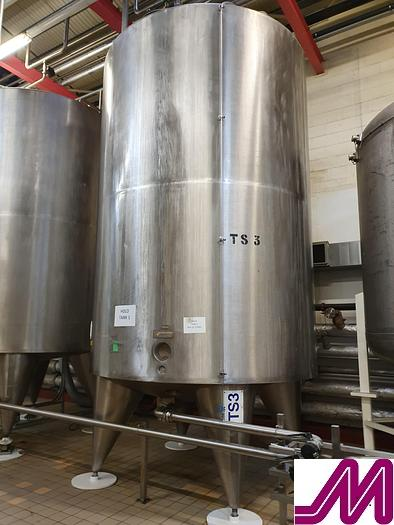 Used 20,000 Litre Stainless Steel Insulated & Clad Storage Tank