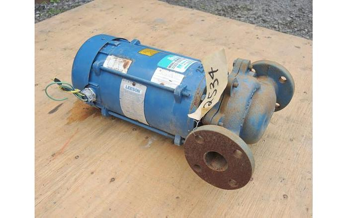 "USED CENTRIFUGAL PUMP, 1.5"" X 1.5"" INLET & OUTLET, CAST IRON"
