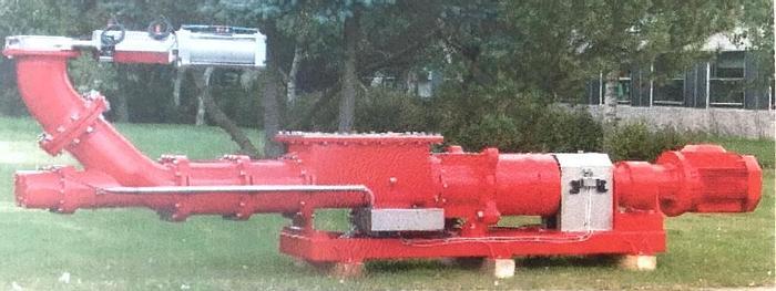Refurbished Twin Screw Pump for sludge pumping