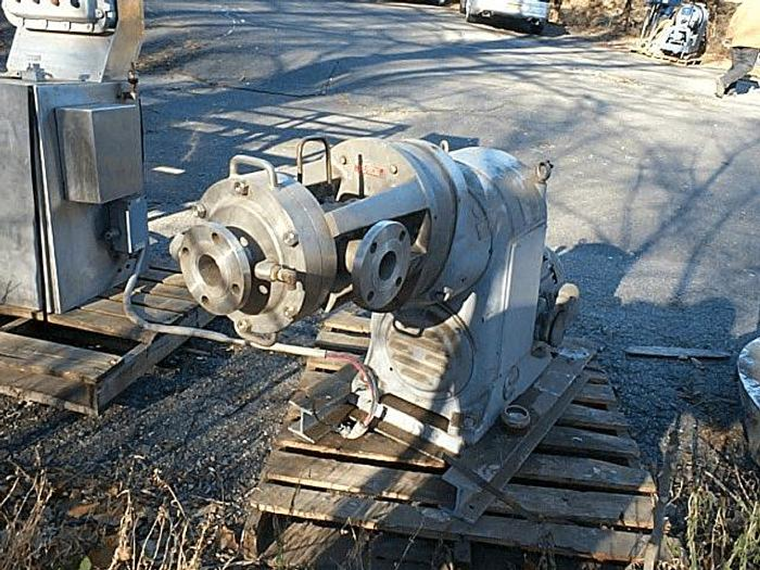 Used 8 in. OAKES CONTINUOUS AUTOMATIC MIXER – 316 S/S – JACKETED