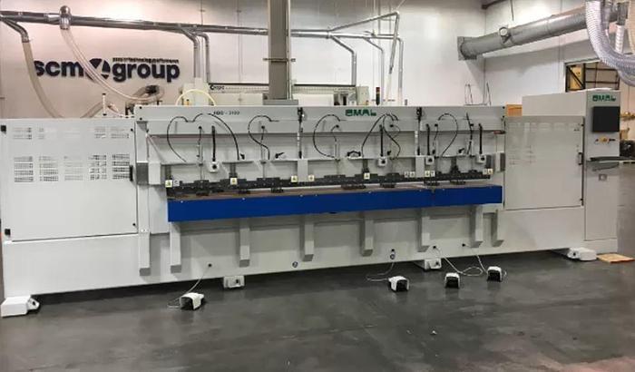 OMAL HBD 3100 MF Horizontal Bore, Glue and Dowel Machine