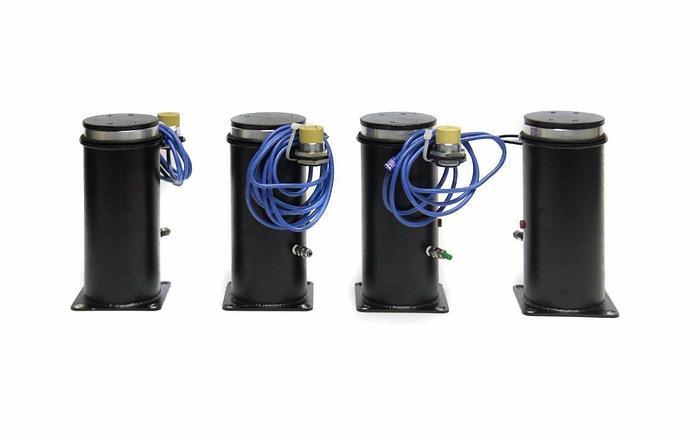 Used TMC IDE Electro Pneumatic Vibration Isolator Mount & Turck Ni15 Lot of 4 (4055)