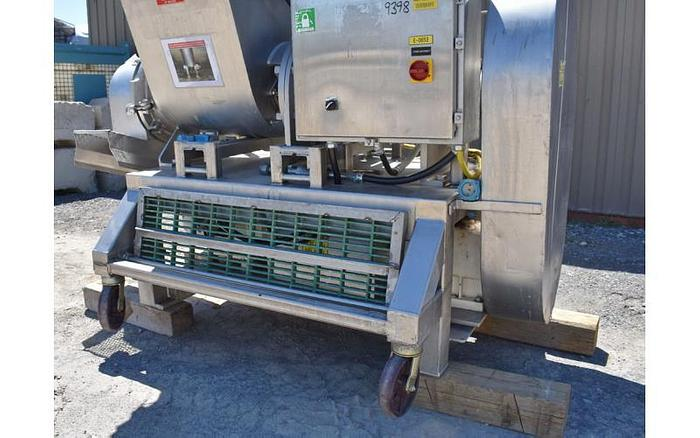 USED RIETZ RE-15 EXTRUCTOR / PULVERIZER, STAINLESS STEEL, SANITARY