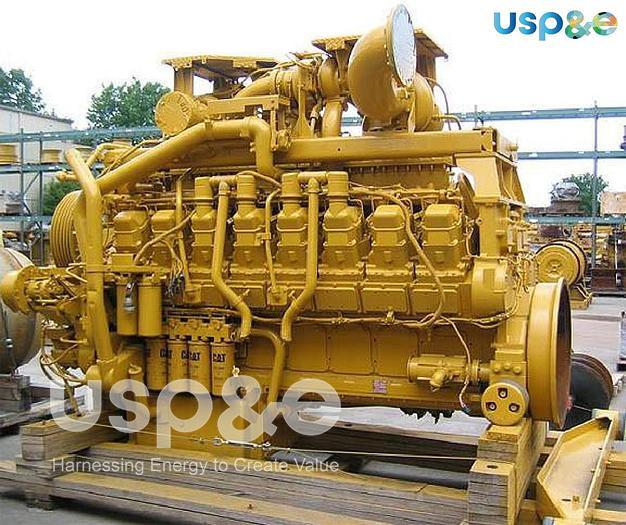 Used 1.8 MW 2014 Used Caterpillar 3516B Diesel Generator