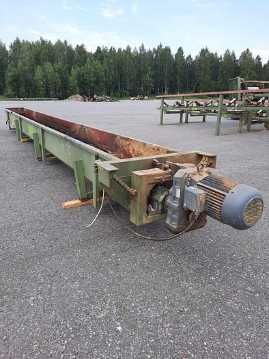 Used Heinola Screw conveyor
