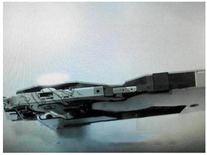 Used Panasonic  Tape Feeder 8mm / EMBOSS / PAPER # N610014286AA - Fit 402/602 Machines