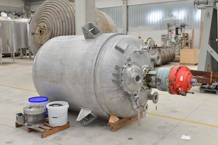 Usato Reattore Angelo Pilotta da 3860 litri