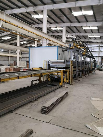 """Used 1400mm (55"""") Manni and Cannon Polyurethane Panel Line: RF-203"""