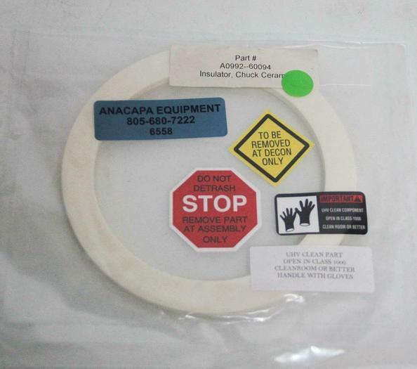AMAT Applied Materials A0992-60094 Wafer Chuck Insulator Ceramic 125mm NEW (6558