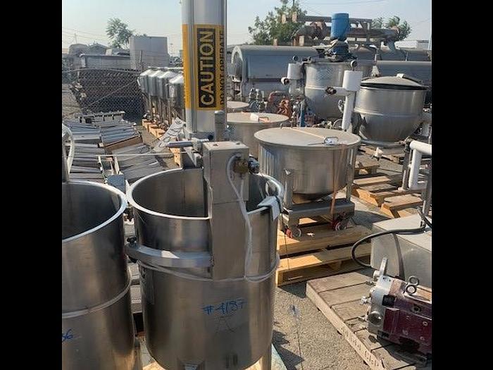 Used VIA TEK Stainless Steel Screen Press Chem Tank OVD 34