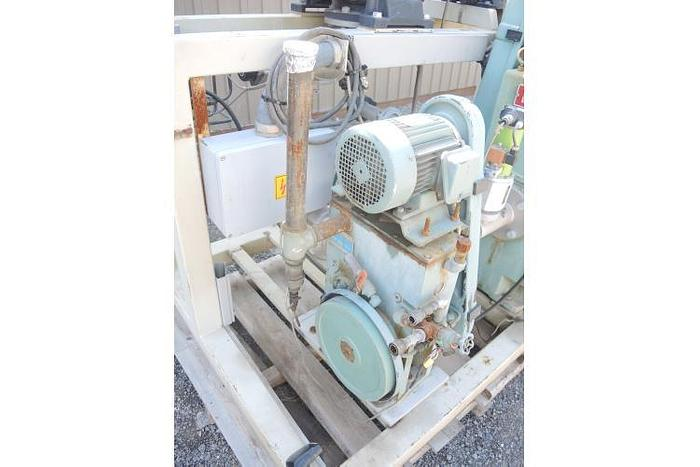 "USED VACUUM PUMP, 2"" X 1.25"" INLET & OUTLET, STOKES, 30 CFM"