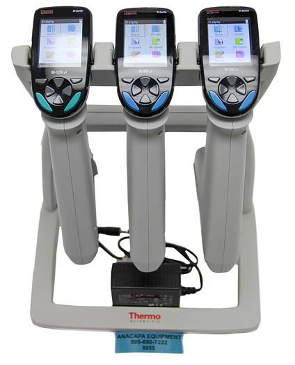 Used Thermo Scientific E1-ClipTip 50-1250µL 30-850µL Electronic Pipettes Charger 8055