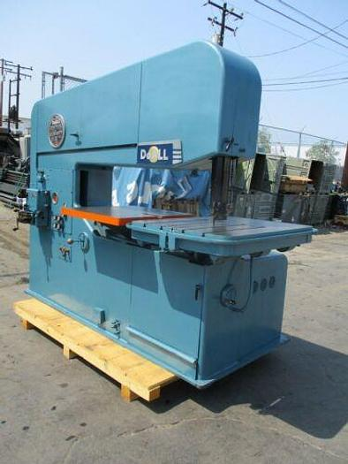"60"" DOALL MODEL 60-3 VERTICAL BAND SAW 40 - 9000 FPM LOADED WITH"