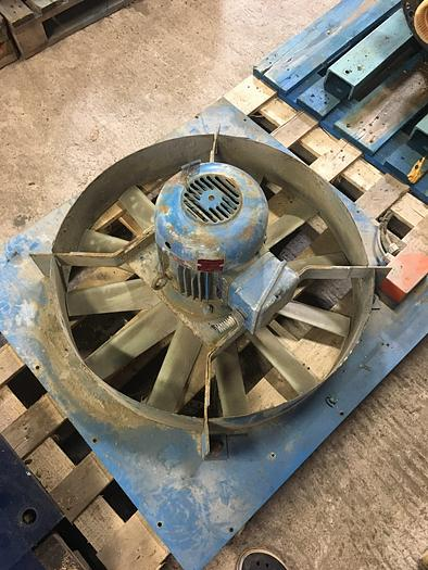 Used 3 kW, NEWMAN, Electric motor with fan