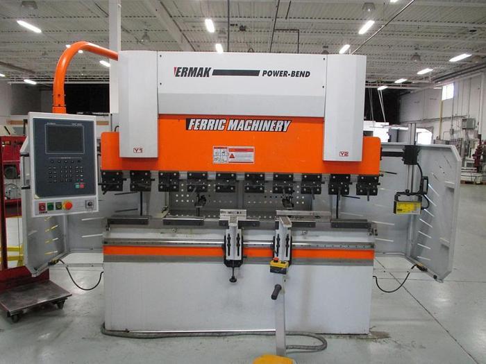 """44 TON X 82-1/2"""", ERMAK, POWERBEND 7X44, 2012, CNC PRESS BRAKE"""