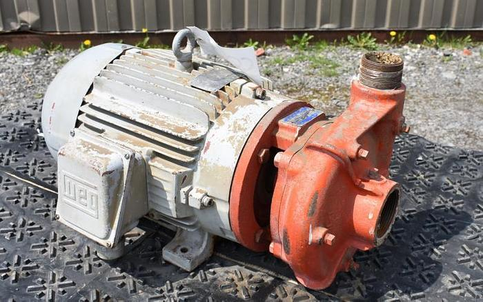 "USED CENTRIFUGAL PUMP, 3"" X 2.5"" INLET & OUTLET, CARBON STEEL"