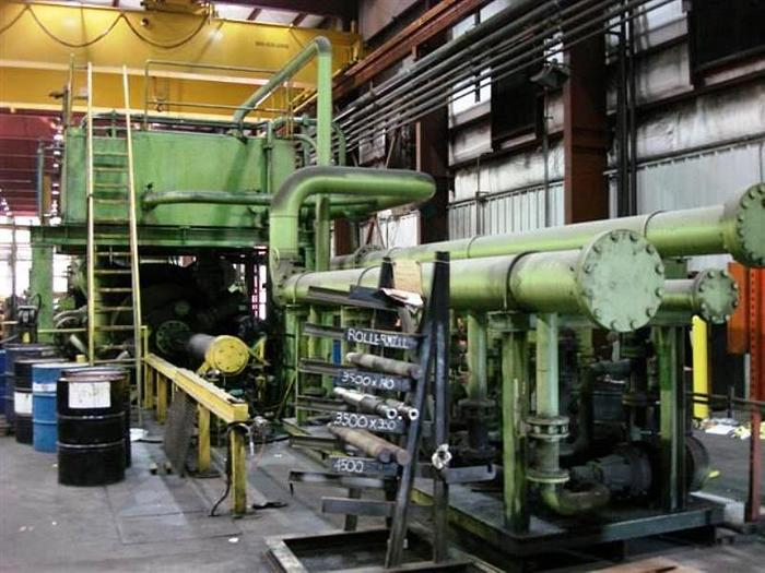 5500 ton Wean-United Copper Extrusion Press: EX-489