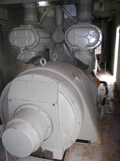 750 KW General Motors / EMD Power System; V-12 Electro-Motive Diesel; Extremely Low Hours