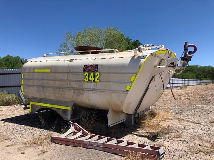 HB18249 water tank 15000 gallon for Komatsu 210 truck or Cat 777