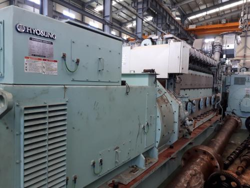 1.98 MW 2013 New MAN 9L21/31 HFO Generator Sets