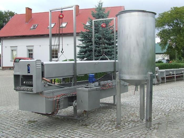 Używane Zespół smażalniczy STORK TBM 630 z taśmą dociskającą, produkt i zbiornikiem na olej