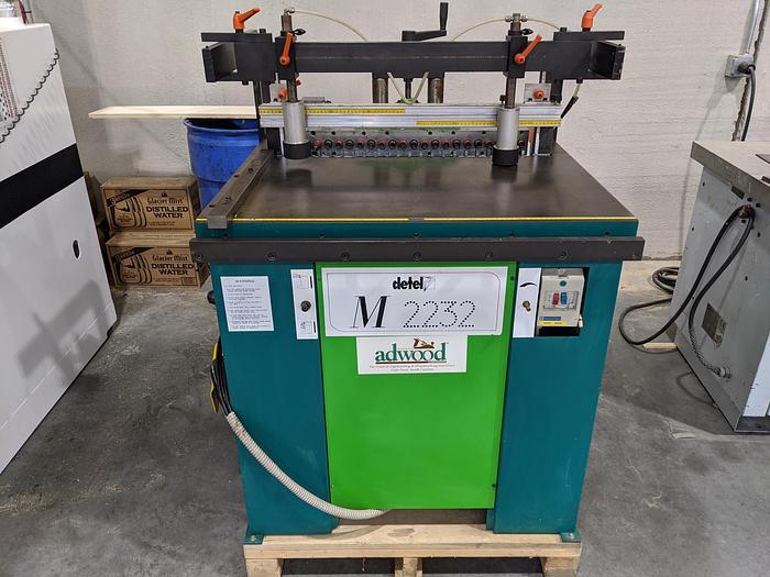 Used Detel M2232 Boring Machine