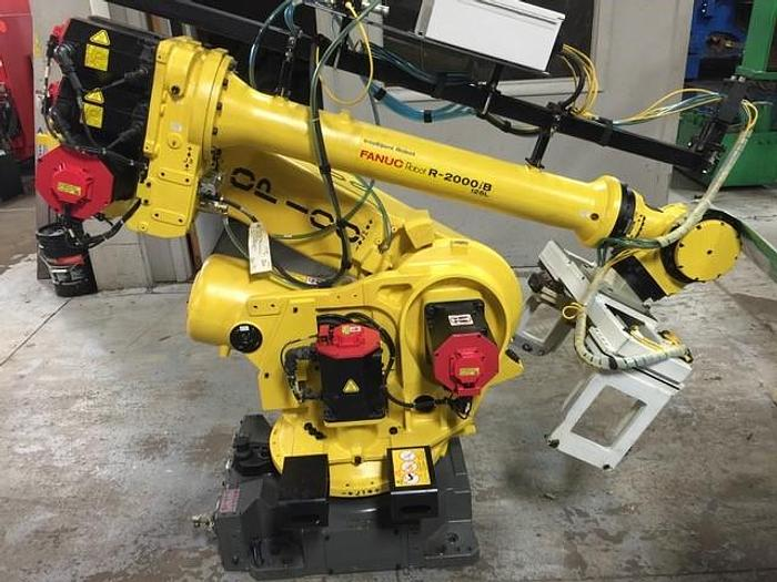Used 3 - FANUC R2000iB/125L 6 AXIS CNC ROBOT WITH R30iA CONTROLLER