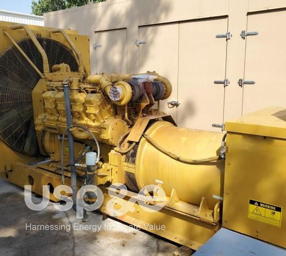 Used 1 MW 1989 Used Caterpillar 3508 DITA Diesel Generator Sets