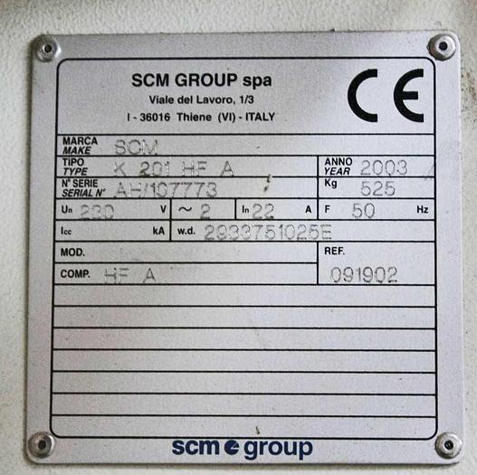 2003 SCM Italy SCM Olimpic K201 HFA