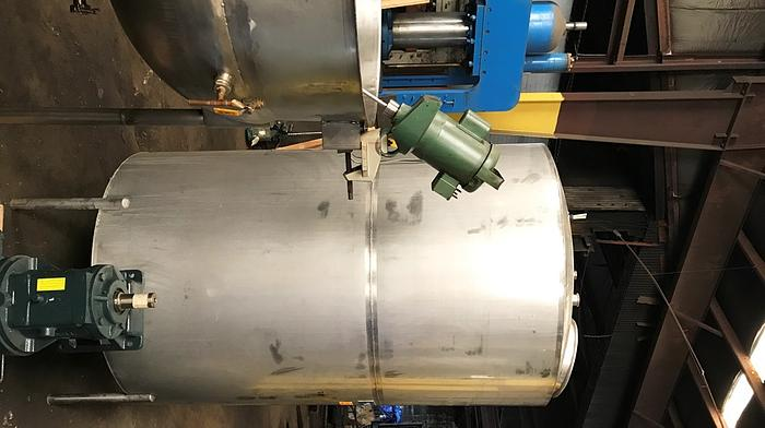 800 Gallon Vertical Stainless Steel Tank, Manufactured by Quality Stainless & Controls