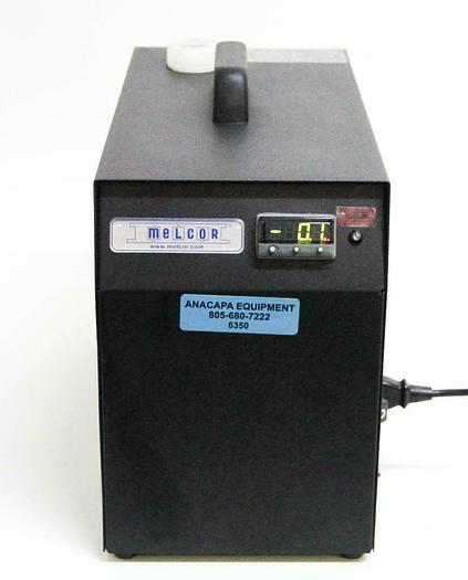Used Melcor Laird MRC150DH2-HT-DV Benchtop Recirculating Chiller, Heater Option 6350