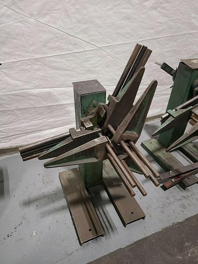 Used Durant Stock Decoiler Payoff Stock Feed Coil for Stamping wire flat stock