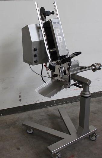 Used Polyclip pdc700 semi automatic double clipper.