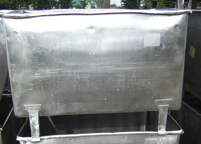 Used Zbiornik 840 l, nierdzewny